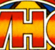 Doctor Who Tom Baker Logo (available as leggings) Sticker