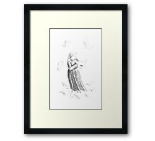 Queen of the Doves Framed Print