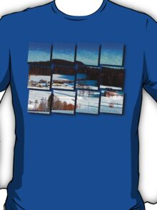 Winter wonderland scenery on a sunny afternoon | landscape photography T-Shirt