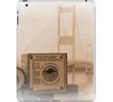 The old Severn Bridge towards Wales iPad Case/Skin