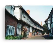 Malt Mill Lane, Alcester, Warwickshire Canvas Print