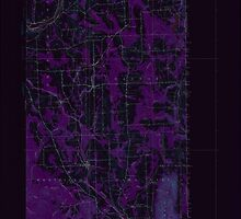 Maine USGS Historical Map Mars Hill 306651 1951 62500 Inversion by wetdryvac