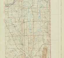Maine USGS Historical Map Mars Hill 306652 1940 62500 by wetdryvac