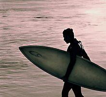 Surfer by Beth  Morley