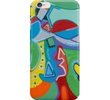 Green Beans Love Color and Form iPhone Case/Skin