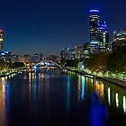 Melbourne City Skyline  by PhotoJoJo