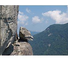"""Devil's Head"" at Chimney Rock Photographic Print"