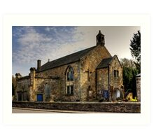 Torryburn Church Art Print