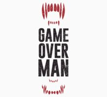 Game Over Man - Alternate Kids Clothes