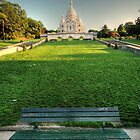 Lonely Bench - May by Louis-Thibaud Chambon