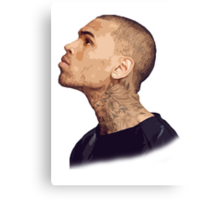 Chris Brown #1 Canvas Print