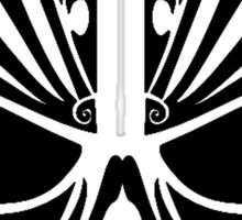 Skull Tattoo Tribal Sticker