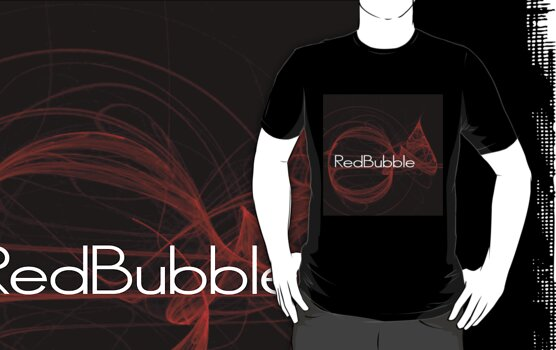 Red Bubble II T by Donna Adamski