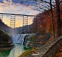 Letchworth - Return to Upper Falls by LocustFurnace