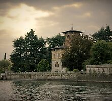 Chateau au Lac Como by Jackco  Ching