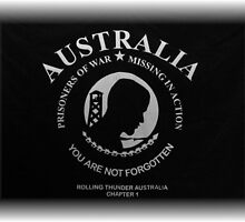 Australia POW - MIA - Your Are Not Forgotten by Waterl00