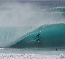 Pipeline Perfect by kevin smith  skystudiohawaii