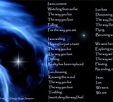 """The Image of - """"We Are"""" by TeriLee by Roger Sampson"""