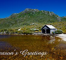 The Boathouse, Dove Lake, Season's Greetings by Steven Weeks