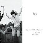 Joy by focusonu