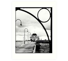 St Kilda Pier Art Print