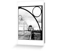 St Kilda Pier Greeting Card