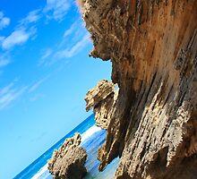 Mornington Peninsula Rocks by Patricia Gibson