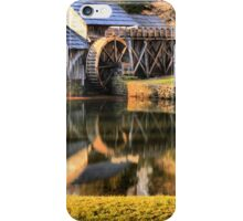 Mabry Mill Sunset Panorama iPhone Case/Skin