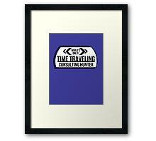 Consulting Hunter Framed Print