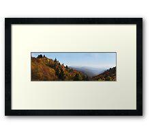 Oconaluftee Valley II Framed Print