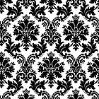 black damask by creativemonsoon