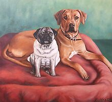 Arts&Dogs - Painted Animal Portraits by Nicole Zeug by Nicole Zeug
