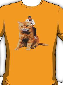 Tyler, the Creator riding cat T-Shirt