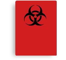 BIOHAZARD Sign warning symbol Canvas Print