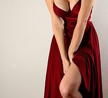 Woman In Red by Wheatley