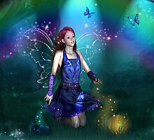 Dawn Mist Fairy by angelsoulart
