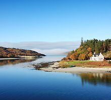 Mouth of the River Morar. by John Cameron