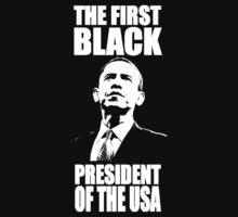 The First Black President of the USA by kerryward