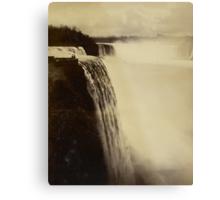 Niagara Falls around 1888 Photograph Metal Print