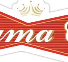 Sigma Chi - Budweiser Sticker