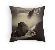 Niagara Falls around 1888 Photograph Throw Pillow
