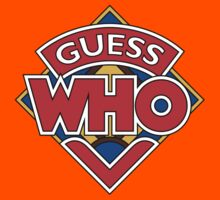 """""""Guess Who"""" Design Kids Clothes"""