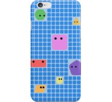 Cute Shapes On A Grid iPhone Case/Skin