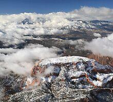 Snow on Kolob by Randy Weekes