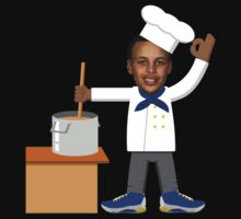 Chef Curry with the Pot, Boy! V.2 T-Shirt