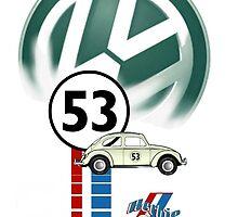 Herbie 53 VW bug beetle by ALIANATOR