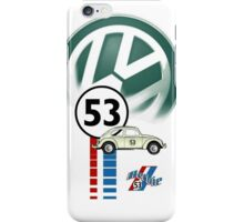 Herbie 53 VW bug beetle iPhone Case/Skin