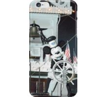 Disney Steamboat Willie Disney Steamboat Mickey Mouse  iPhone Case/Skin