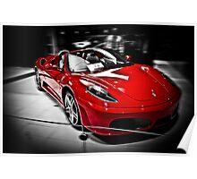 Ferrari F430 Spider Poster