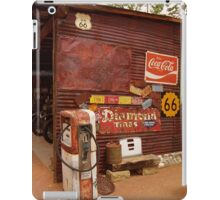Route 66 Garage and Pump iPad Case/Skin